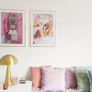 Perfecte fotowand met posters van Desenio