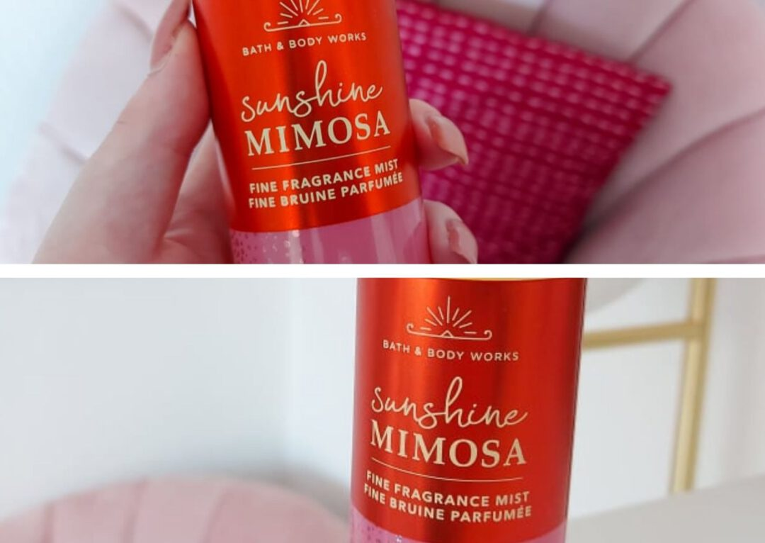 Sunshine Mimosa Bath and Body Works
